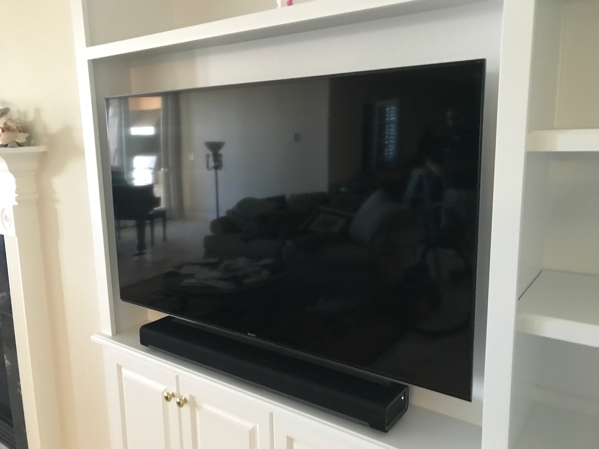 TV install for home theater in Jacksonville Beach, FL